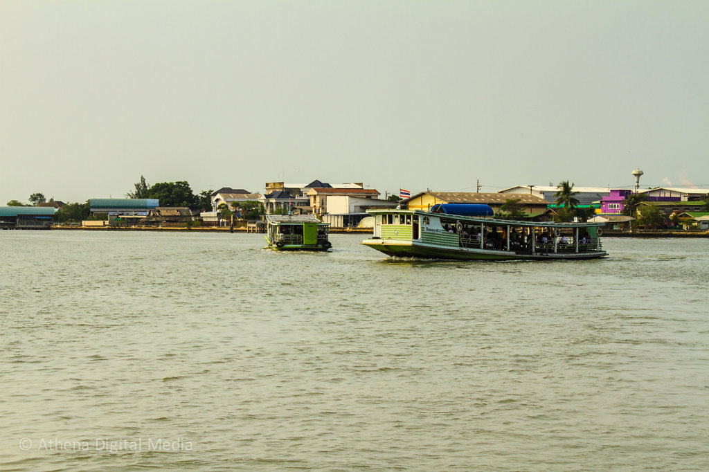The Ferry from Maha Chai to Baen Laem