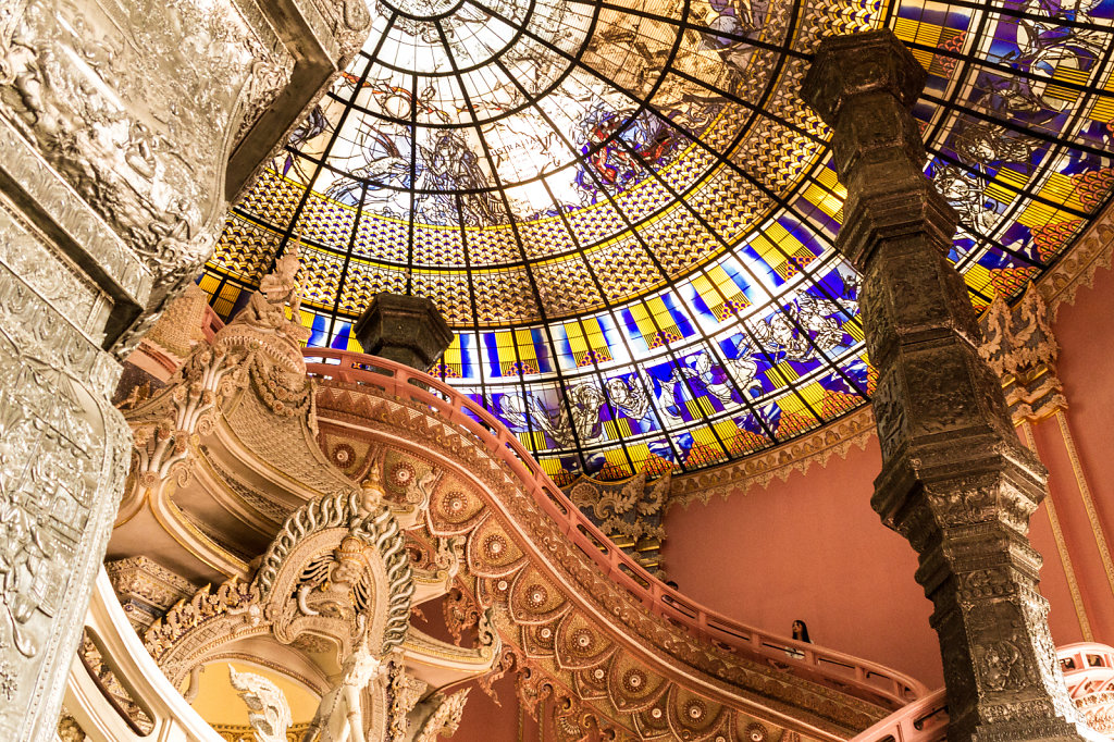 The Staircase and Dome at the Erawan Museum